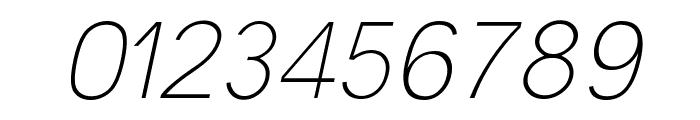 Malter Sans Thin Italic Demo Font OTHER CHARS