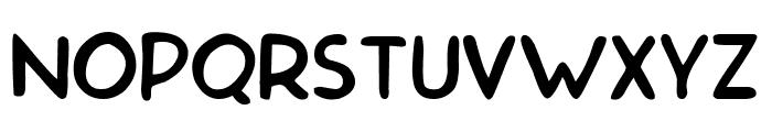 Malvinas Regular Font UPPERCASE