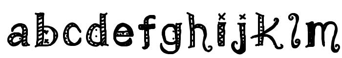 MamaRoxc Font LOWERCASE
