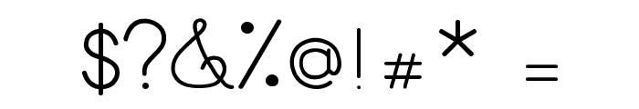 MamaeQueNosFaz Font OTHER CHARS