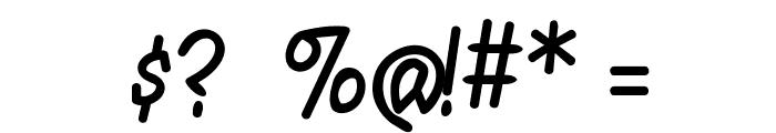 ManTiqua-BlaXX Font OTHER CHARS