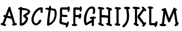 ManTiqua-BlaXX Font UPPERCASE