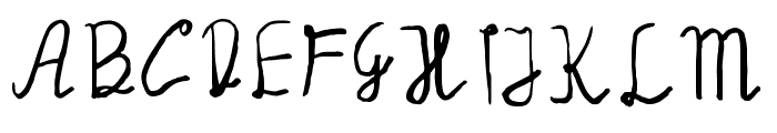 Manalatina Font UPPERCASE