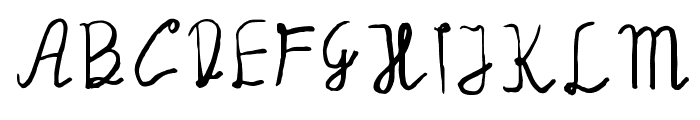 Manalatina Font LOWERCASE