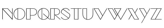ManbowClear-Regular Font UPPERCASE