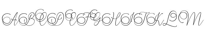 Mandailing Font UPPERCASE