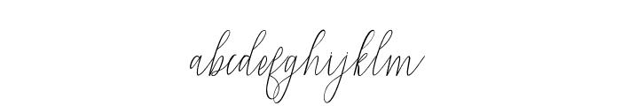 Mandailing Font LOWERCASE