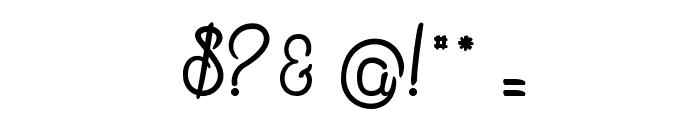 Mandala Home Font OTHER CHARS