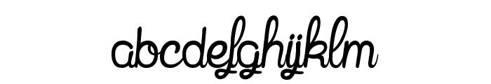 Mandala Home Font LOWERCASE