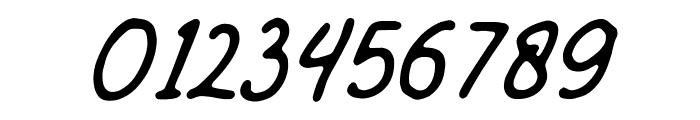 Mandatory-Script Font OTHER CHARS