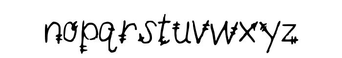 MandersTickTock Font LOWERCASE