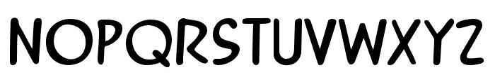 Mandrake FF Regular Font LOWERCASE