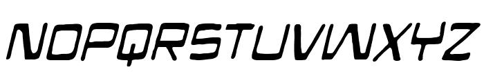Mandroid BB Italic Font UPPERCASE
