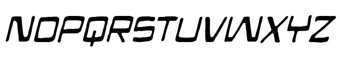 Mandroid BB Italic Font LOWERCASE