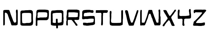 Mandroid BB Font UPPERCASE