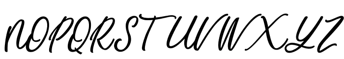 Mandymores Font UPPERCASE