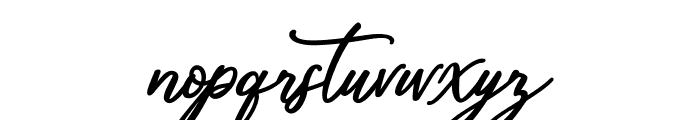 Mandymores Font LOWERCASE