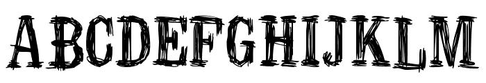 Manero Font UPPERCASE