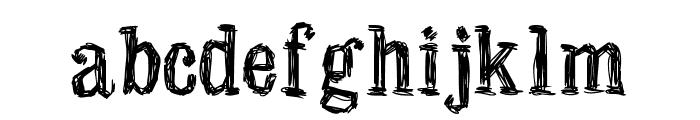 Manero Font LOWERCASE