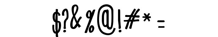 Mangaba Font OTHER CHARS