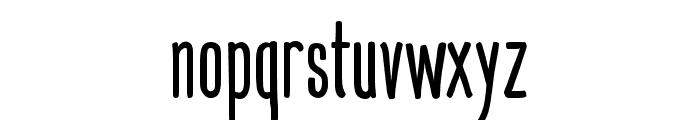 Mangaba Font LOWERCASE