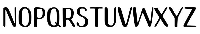 Mango Chutney Regular Font LOWERCASE