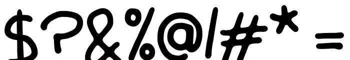 Mango Slice Font OTHER CHARS