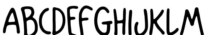Mango Slice Font UPPERCASE