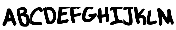 MangoBaby Font UPPERCASE