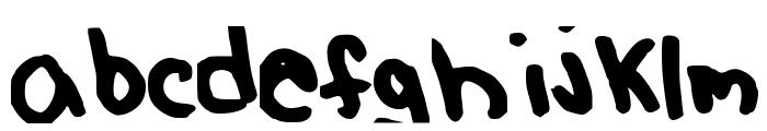 MangoBaby Font LOWERCASE