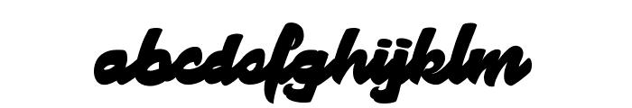 Manhattan Avenue Font LOWERCASE