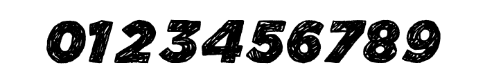 Manhattan Hand Bold Italic Font OTHER CHARS