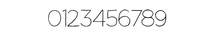 Manhattan Hand Lite Font OTHER CHARS