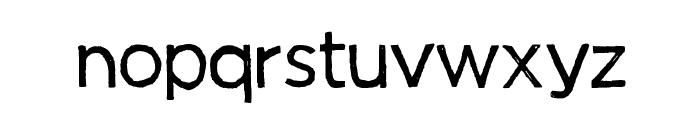 Manhattan Hand Normal Font LOWERCASE