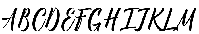 Manhattan Typeface Demo Font UPPERCASE