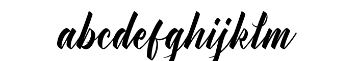 Manhattan Typeface Demo Font LOWERCASE