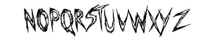 Manhunter Font UPPERCASE