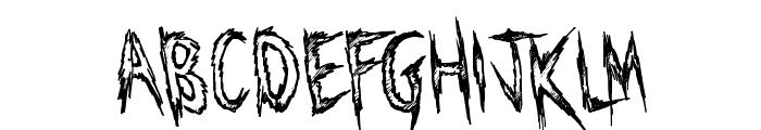 Manhunter Font LOWERCASE