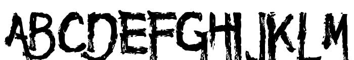 Maniac DEMO Font UPPERCASE