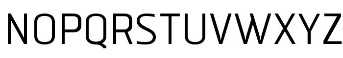 ManilaSans-Regular Font UPPERCASE