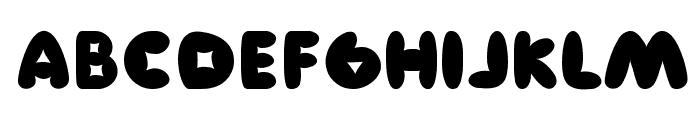 Manis Font UPPERCASE
