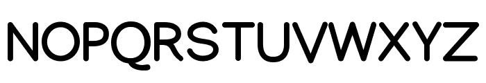 Manjari Bold Font UPPERCASE