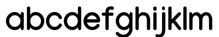 Manjari Bold Font LOWERCASE