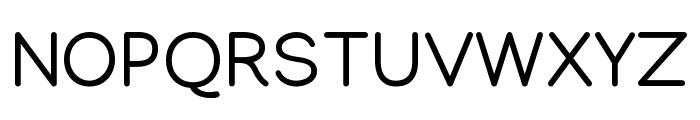 Manjari Regular Font UPPERCASE