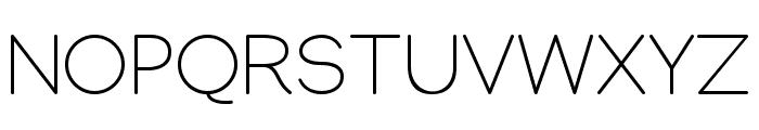 Manjari Thin Font UPPERCASE