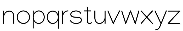 Manjari Thin Font LOWERCASE
