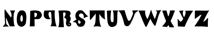 ManjiroScript Font LOWERCASE