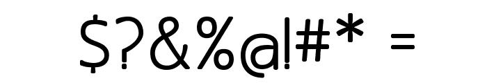 MankSans-Medium Font OTHER CHARS