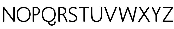 MankSans-Medium Font UPPERCASE