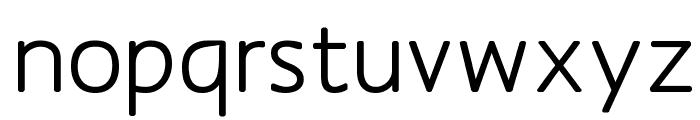 MankSans-Medium Font LOWERCASE